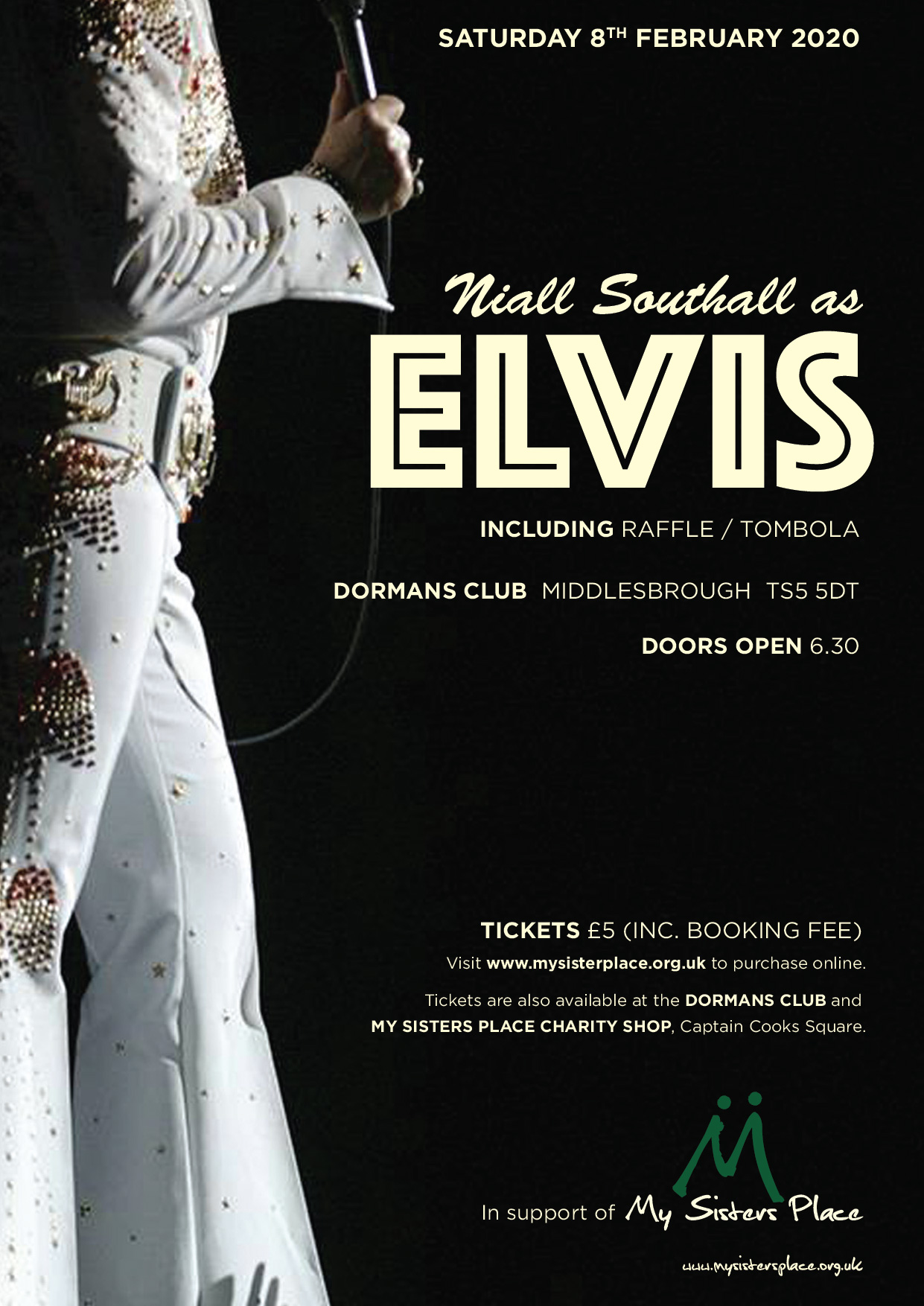 Niall Southall as Elvis